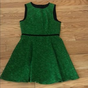 TIBI Green Dress
